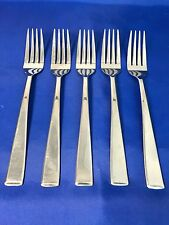 Cambridge Silversmiths ASCEND MIRROR Dinner Forks Stainless Flatware Set Of 5