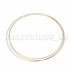 Brass Alloys 2.43M Acoustic Guitar Mandolin banjo Fret wire 1.5mm Gold New