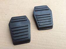 Pair Ford Escort MK1  Pedal Rubbers Brake + Clutch ROWA-G