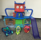 PJ MASKS HEADQUARTERS PLAY SET WITH FIGURES AND VEHICLES TAKE A L@@K