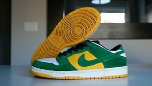Nike Dunk SB Low 'Buck' Size 9.5US Pre-Owned RARE 2004 Classic Green