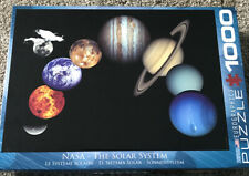 New EuroGraphics NASA The Solar System 1000 Piece Puzzle sealed in package
