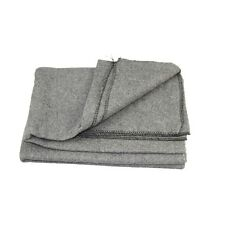 Gray 65% Wool Army Style Blanket 2795 (Emergency, Camping, Utility)