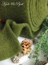 3,40 €/m) olla banda wollvlies fieltro fieltro verde musgo lana de oveja Lehner lana gu13