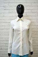 Camicia Bianca Donna GUESS Taglia Size 42 Maglia Shirt Blusa Woman Manica Lunga