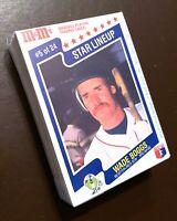 50) WADE BOGGS Boston Red Sox 1987 M&M's Star Lineup Baseball Card #5 of 24 LOT