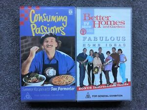 ABC Channel 7 Video Better Homes Consuming Passions VHS Australian TV Brand New