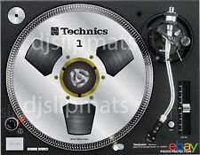 PAIR (2) Ltd.Ed Technics Japan Reel to Reel RS-1700 DJ Slipmats slipmat WHITE