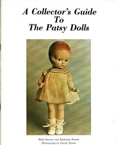 Collector's Guide Effanbee Patsy Dolls - Types Marks / Scarce Illustrated Book