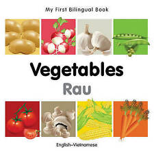 My First Bilingual Book–Vegetables (English–Vietnamese) by Milet Publishing
