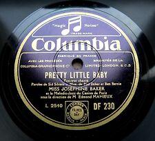 1338/JOSEPHINE BAKER-Pretty little Baby-Suppo-Melodic-Jazz Paris-78rpm Schellack