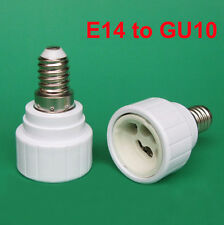 Small Screw SES E14 To GU10 Light Bulb Adaptor Lamp Socket Converter Holder