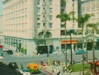Vintage c1950s Postcard San Diego CA U.S. Grant Hotel Horton Plaza California