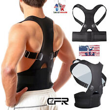 Magnetic Therapy Posture Corrector Body Back Pain Relief Brace Shoulder Support