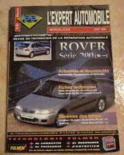 revue technique l'expert automobile l'ea N°375 ROVER SERIE 200 + FICHE TECHNIQUE