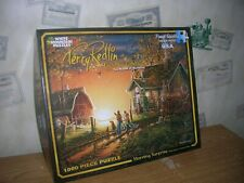 """1000 Piece Jigsaw Puzzle """"Mornng Surprise"""" by Terry Redlin White Mountain P"""