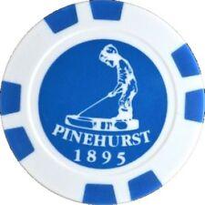 PINEHURST Logo (BLUE) POKER CHIP Ball Mark