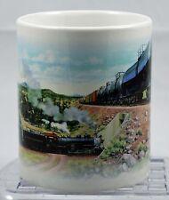 J Craig Thorpe UTLX Train Bridge Mural 12 oz Mug (r40)
