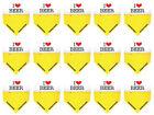 5 Sets Harrows Marathon Standard Dart Flights - Ships w/ Tracking - I Love Beer
