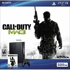PlayStation 3 320GB Bundle Call Of Duty: Modern Warfare 3 PS3 Very Good 5Z