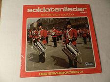 Soldatenlieder Heeresmusikkorps IV mit Orchester und Chor Folge II Fiesta LP Mnt