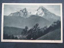 Berchdesgaden 1927  -Watzmann