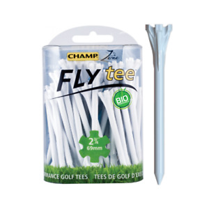 """Champ Fly Tee - 2¾"""" (69mm) - Colours"""