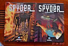 Bd - SPYDER - la série complète en 4 albums - EO