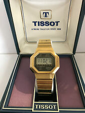 Tissot 21080 ref.4015 module ESA 4311 Swiss Made Quartz LCD Vintage Watch