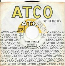 NINO TEMPO & APRIL STEVENS * 45 * Deep Purple * 1960's ORIGINAL ATCO with Sleeve