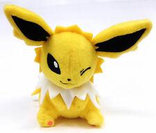 Pokemon 5'' Jolteon Kutsurogi Time Banpresto Prize Plush Anime Manga NEW