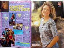 COURTNEY THORNE-SMITH => 2 PAGES 1995 FRENCH CLIPPING