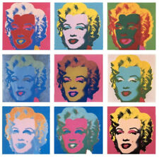 Andy WARHOL (d'après) - Serie Marilyn Monroe (1967), 10 Granolithographies