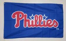 Philadelphia Phillies Banner 3x5 Ft Flag Man Cave Decor Gift MLB Baseball Sports