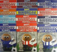 Football Nut Happy FA Cup Birthday Card (Beer or Scarf) Plain, Male Relatives