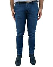 Jeans Roy Roger's Man Trousers Slim Fit Blue Made in Italy