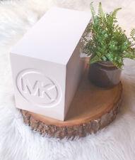Michael Kors Mk Logo Box Store White Display Purse Shoes Base Box Rare Authentic