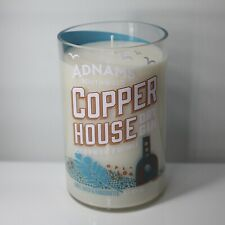 Adnams Copper House Gin Alcohol Bottle Upcycled Candle