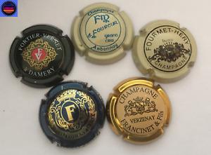 5 Capsules de Champagne Toutes Différentes !!!!!