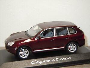 Porsche Cayenne Turbo - Minichamps 1:43 in Box *34194