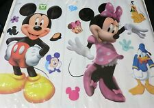 Mickey and Minnie Mouse Wall Decal Sticker baby nuesery kids bedroom