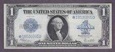 $1 1923 Beautiful Crisp Vf+ *Star* Silver Certificate!