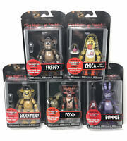FUNKO FIVE NIGHTS AT FREDDY'S SERIES 1  SET OF 5 ACTION FIGURES FNAF SPRINGTRAP