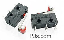 125V-250V Micro Roll Lever Arm Normally Open Close Limit Switch KW12-3 x 2pcs