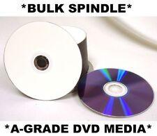 1000 x DVD-R/DVDR Blank Disks/Discs Burn White Matt InkJet Printable IJ *VALUE*