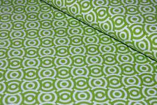 Tante Ema Stoff Jersey grün hellgrün weiß Kreise Punkte Qualität