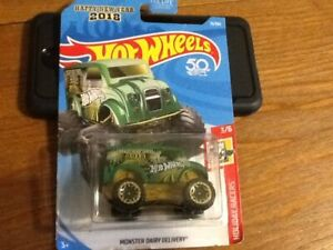 Hot wheels monster dairy delivery truck
