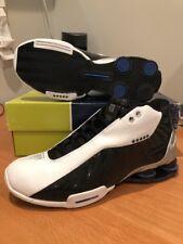 New Nike Shox VC BB4 Air Max Zoom Vince Carter OG Vinsanity White Black Sz 9.5