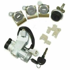 Suzuki SJ410 SJ413 Samurai Ignition Switch Steering Door Glove Box Lock Set of 4