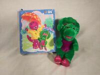 "BARNEY--Baby Bop Plush Lot VTG 1990s Toys Lyon Group Golden Bear 12""   (LOT#B4)"